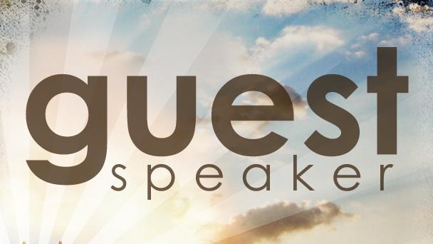 guest speaker image