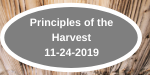 Principles of the Harvest